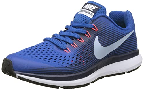 new arrival c2581 d70c7 Nike Nike Zoom Pegasus 34 (gs), Boys Competition Running Shoes, Blue