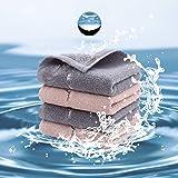 フェイスタオル タオル4枚2色セット ふんわり 吸水速乾 やわらか 綿100% 柔らか肌触り 家庭用/ホテル/スポーツなどに最適
