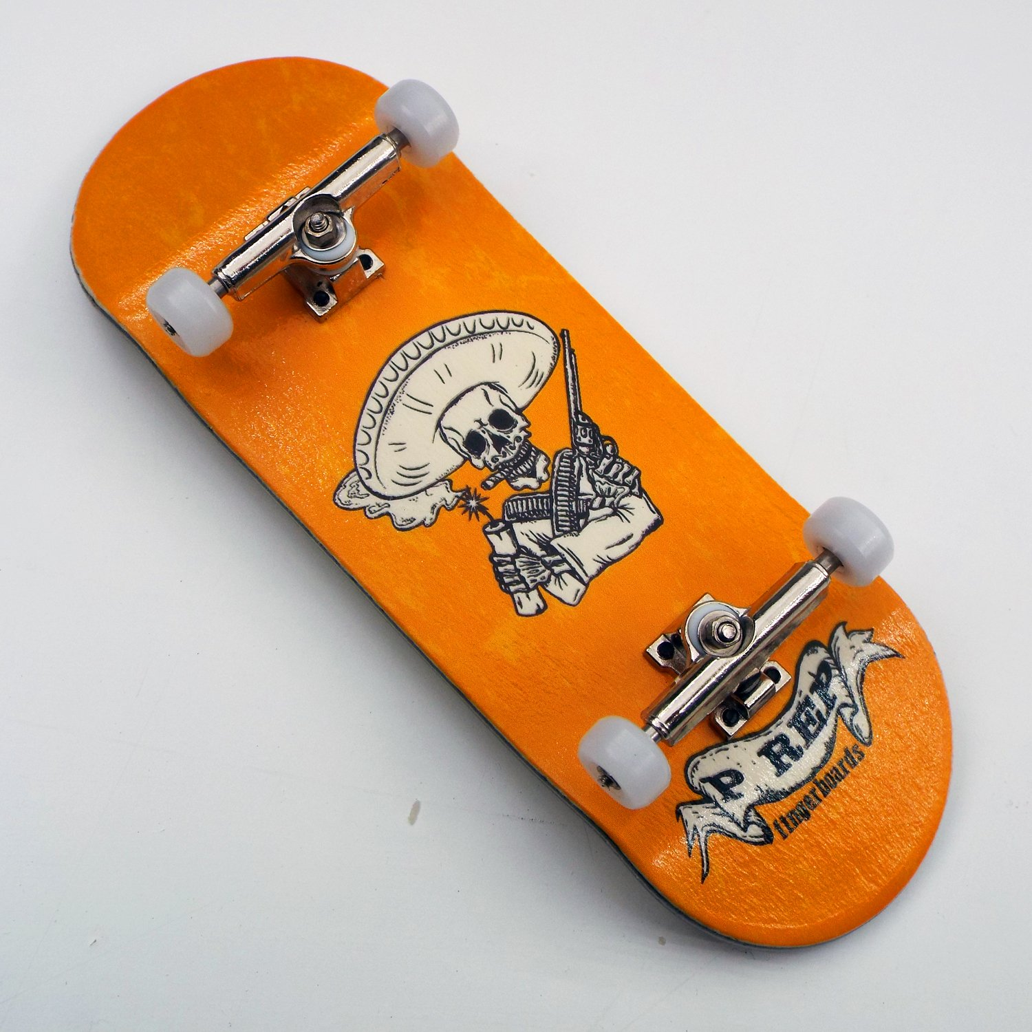 P-REP TUNED Complete Wooden Fingerboard 34mm x 100mm - Bandito by Peoples Republic (Image #2)