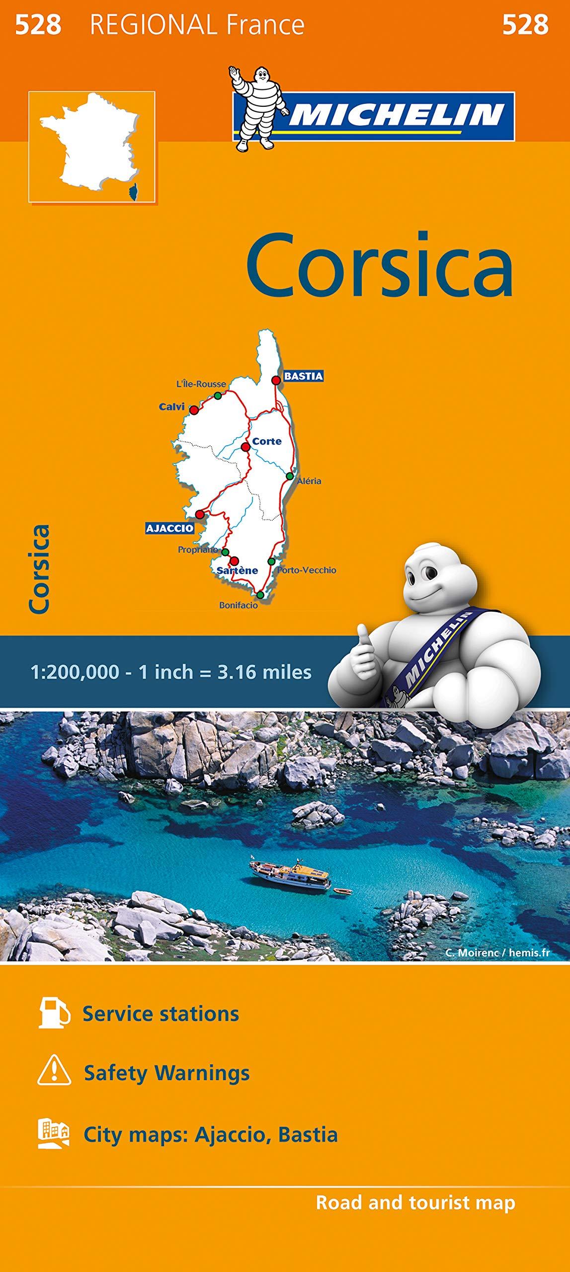 Cartina Michelin Sardegna.France Corsica Map 528 Michelin Regional France Michelin 9782067211865 Amazon Com Books