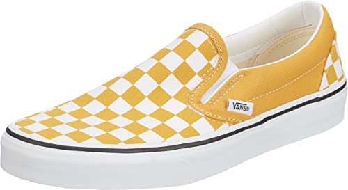 vans carreaux jaune