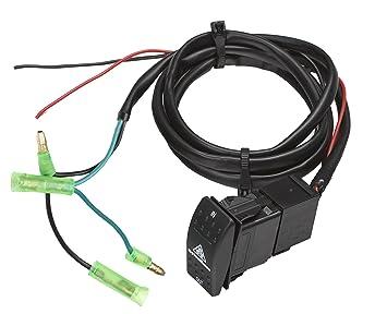 Amazoncom VIPER ATV UTV Winch Custom Flush Mount Dash Switch