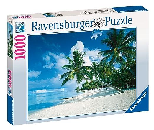 11 opinioni per Ravensburger 15285 Spiaggia tropicale Puzzle 1000 pezzi Foto & Paesaggi