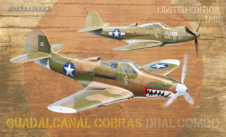 Eduard Models Limited Edition Guadalcanal Cobras Dual Combo/ Model Kit
