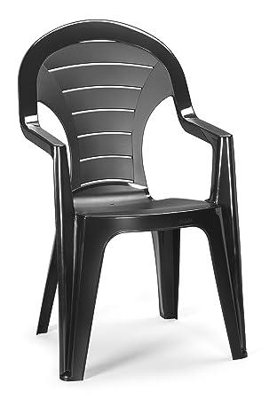 ribelli chaise de jardin plastique bonaire fauteuil de jardin empilable chaise fauteuil d - Fauteuil Exterieur Plastique