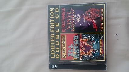 Amazon com : DJ Rectangle Double Cd Limited Edition ill