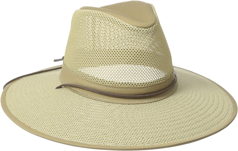 X-Large Henschel Hats Aussie Breezer 5310 Cotton Mesh Hat Green