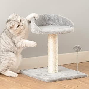 """AUROTH cat Tree,42""""cat Tower with Stable Base for Indoor Cats, Large cat condo with Plush perches, Toys & Natural Sisal Scratching Posts, Multi-Level Small Cat Furniture Perfect for Kittens Play,Rest"""