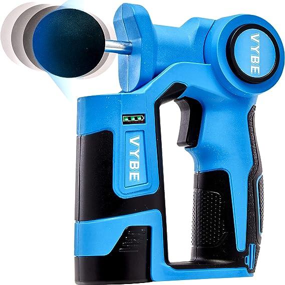 Vybe Percussion Massage Gun - Handheld, Brushless, Cordless