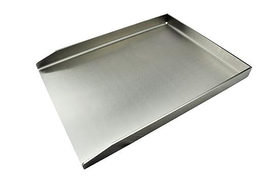 6 opinioni per Grillrost.com- Piastra per barbecue in acciaio INOX massiccio- Groß- 40 x 30cm