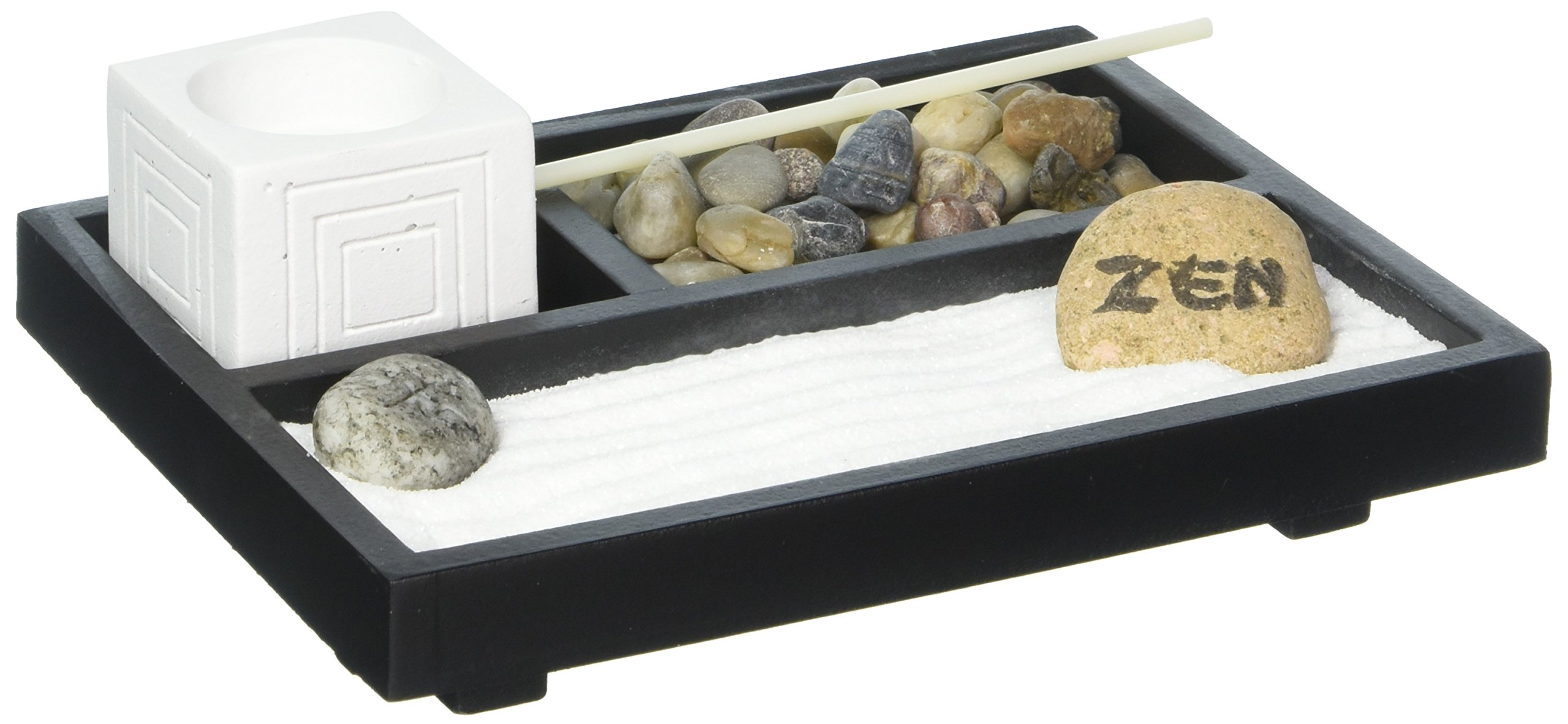 Koehler 13053 7 Inch Tabletop Zen Decorative Garden Kit