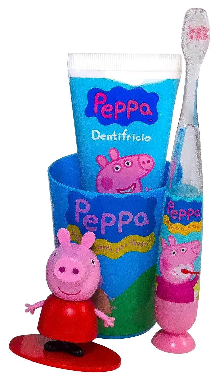 Mr White Jr caja para regalar con cepillo de dientes, diseño de Peppa Pig: Amazon.es: Salud y cuidado personal