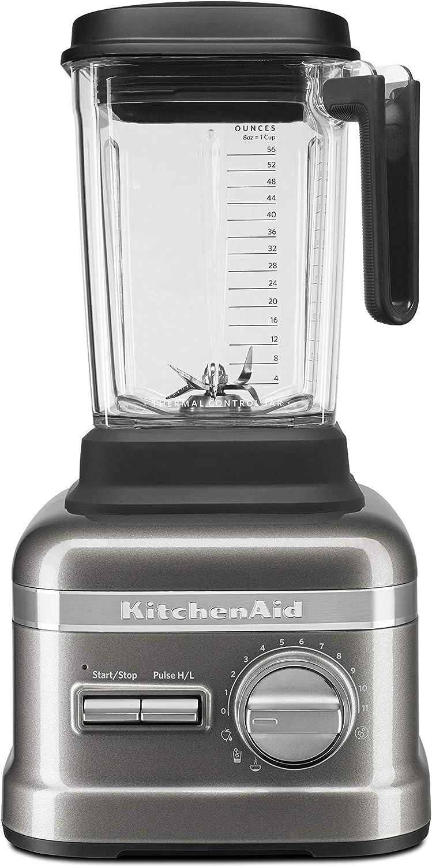 KitchenAid Refurbished Pro Line Series Blender with Thermal Control Jar   Medallion Silver