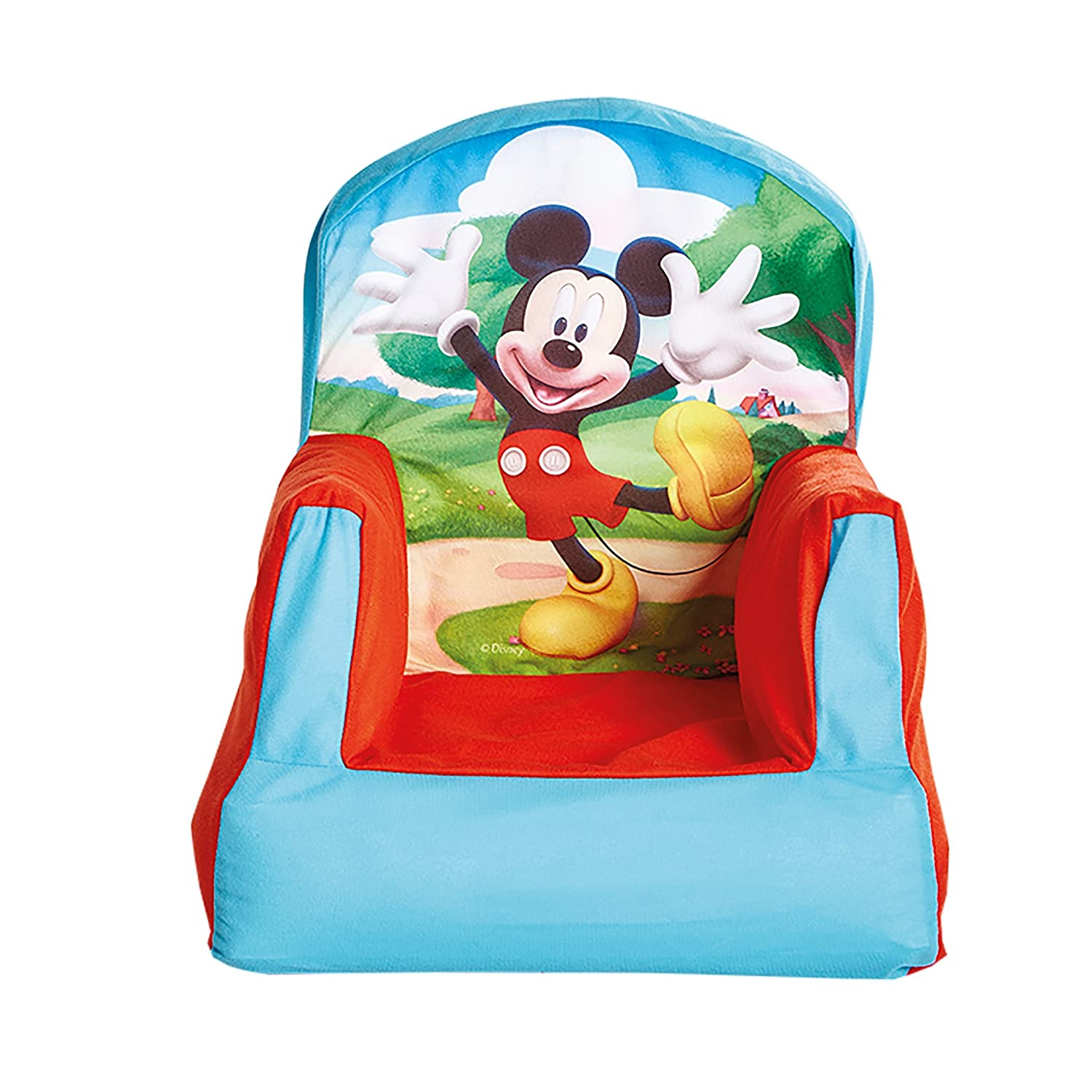 Disney Mickey Mouse Inflatable Chair For Kids: Amazon.co.uk: Kitchen U0026 Home