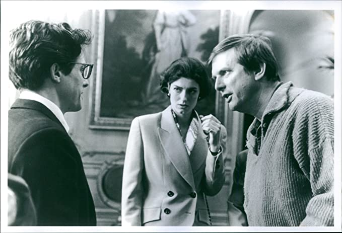 Amazon Com Vintage Photo Of Mike Newell Hugh Grant And Anna