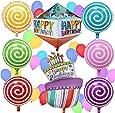 Palloncini buon compleanno – Decorazioni per feste di compleanno per bambini da Sterling James