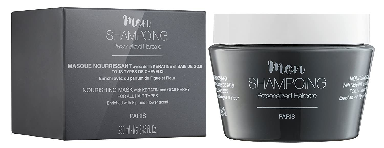 Mon Shampoing nourishing MASK with KERATIN and GOJI BERRY ALL HAIR TYPES 250 ml