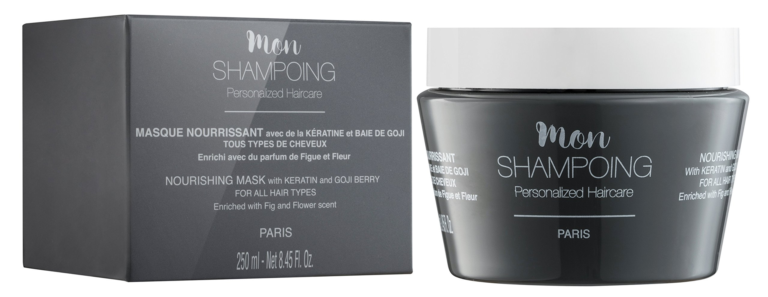 Mon Shampoing nourishing MASK with KERATIN and GOJI BERRY – ALL HAIR TYPES – 250 ml by Mon Shampoing (Image #2)
