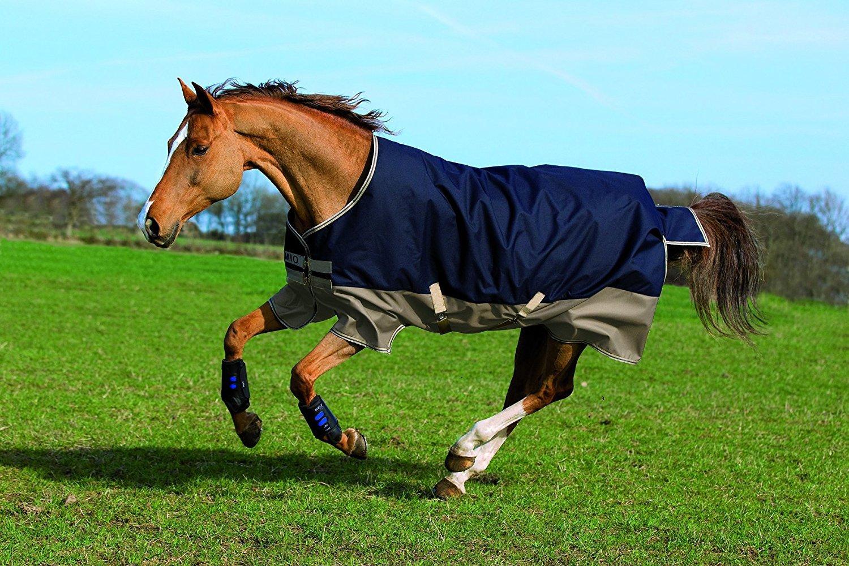 Horseware Amigo Blankets Mio Lite Turnout Sheet 84 Navy/Tan