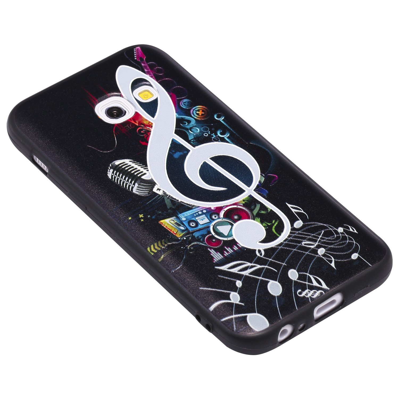Samsung Galaxy H/üllen 4,7 Zoll Hozor D/ünne Weiche TPU Silikon Handyh/ülle Schutztasche Back Cover Gemalt Gepr/ägt Muster Schutzh/ülle Etui f/ür Samsung Galaxy A3 2016 // SM-A310F - Eulen-Mond