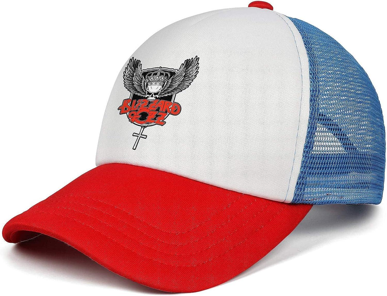 KAIWNV Unisex Trucker Hat Adjustable Pattern Mountaineering Caps