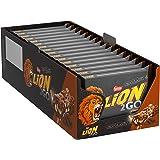 Nestlé LION 2GO Chocolate Multipack, Schokoriegel mit Erdnüssen, Rosinen & Schokoladenstückchen, Karamell, das besondere Beißerlebnis to go, Menge: 16er Pack mit jeweils 4 Riegeln (16 x 4 x 33 g)