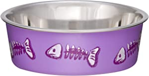 Loving Pets Fish Bella Bowl for Cat, X-Small, Lilac