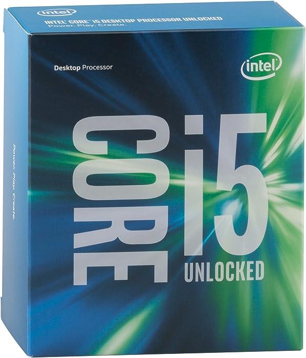 Intel Core i5 6600K 3.50 GHz Quad Core Skylake Desktop Processor, Socket LGA 1151, 6MB Cache (BX80662I56600K)