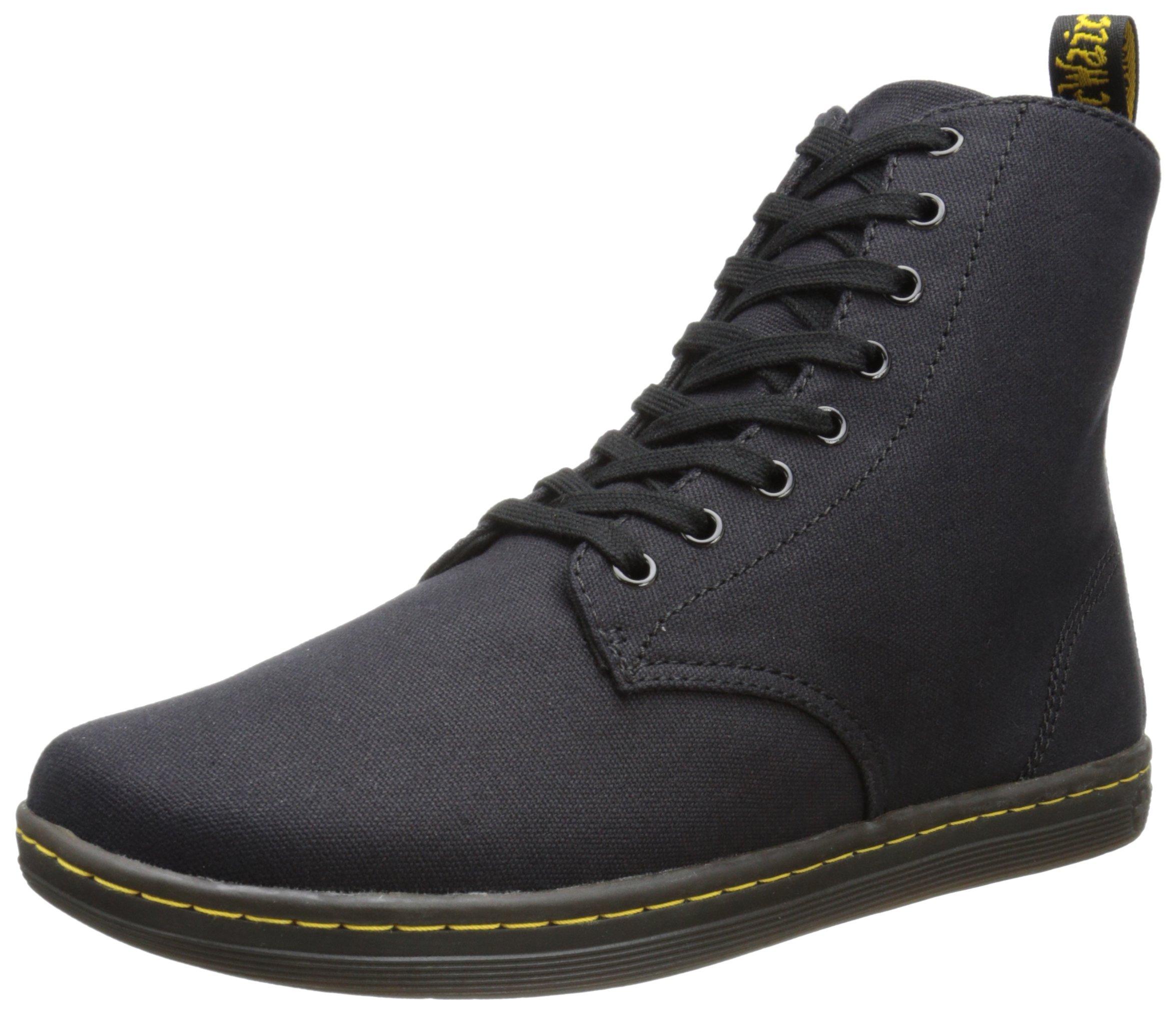 Dr. Martens Men's Alfie Boot,Black Canvas,10 UK/11 M US