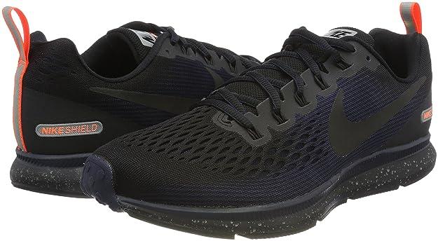 Nike Air Zoom Pegasus 34 Shield Zapatillas de Deporte para Hombre Multicolor (Black Black Black Obsidian 001) B076X6JK7W