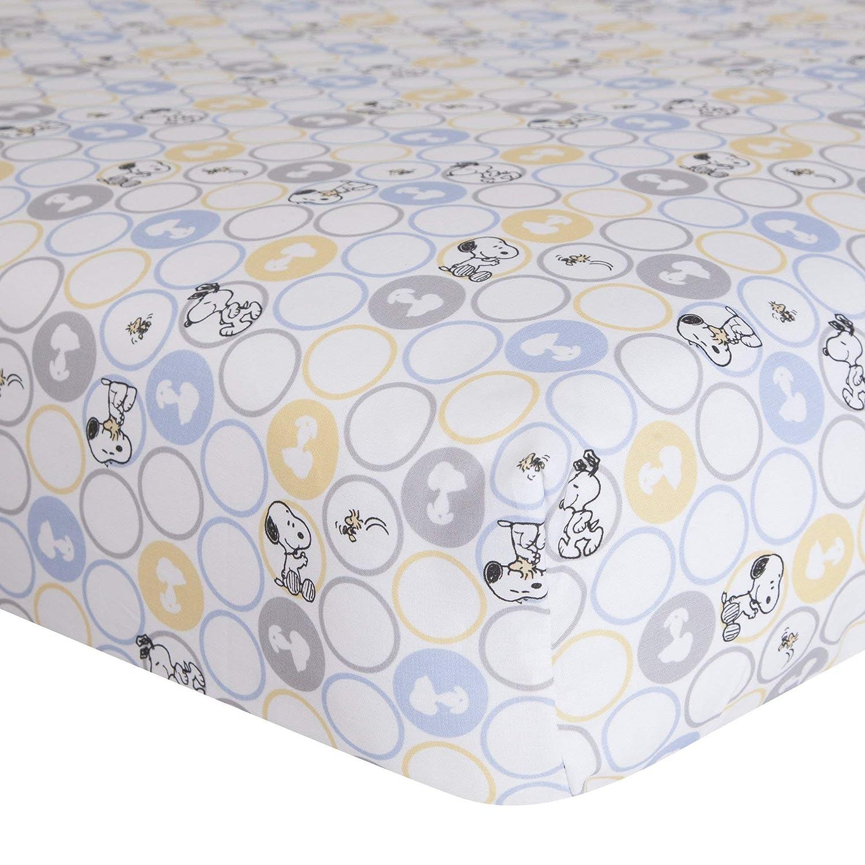 Lambs & Ivy My Little Snoopy Crib Sheet