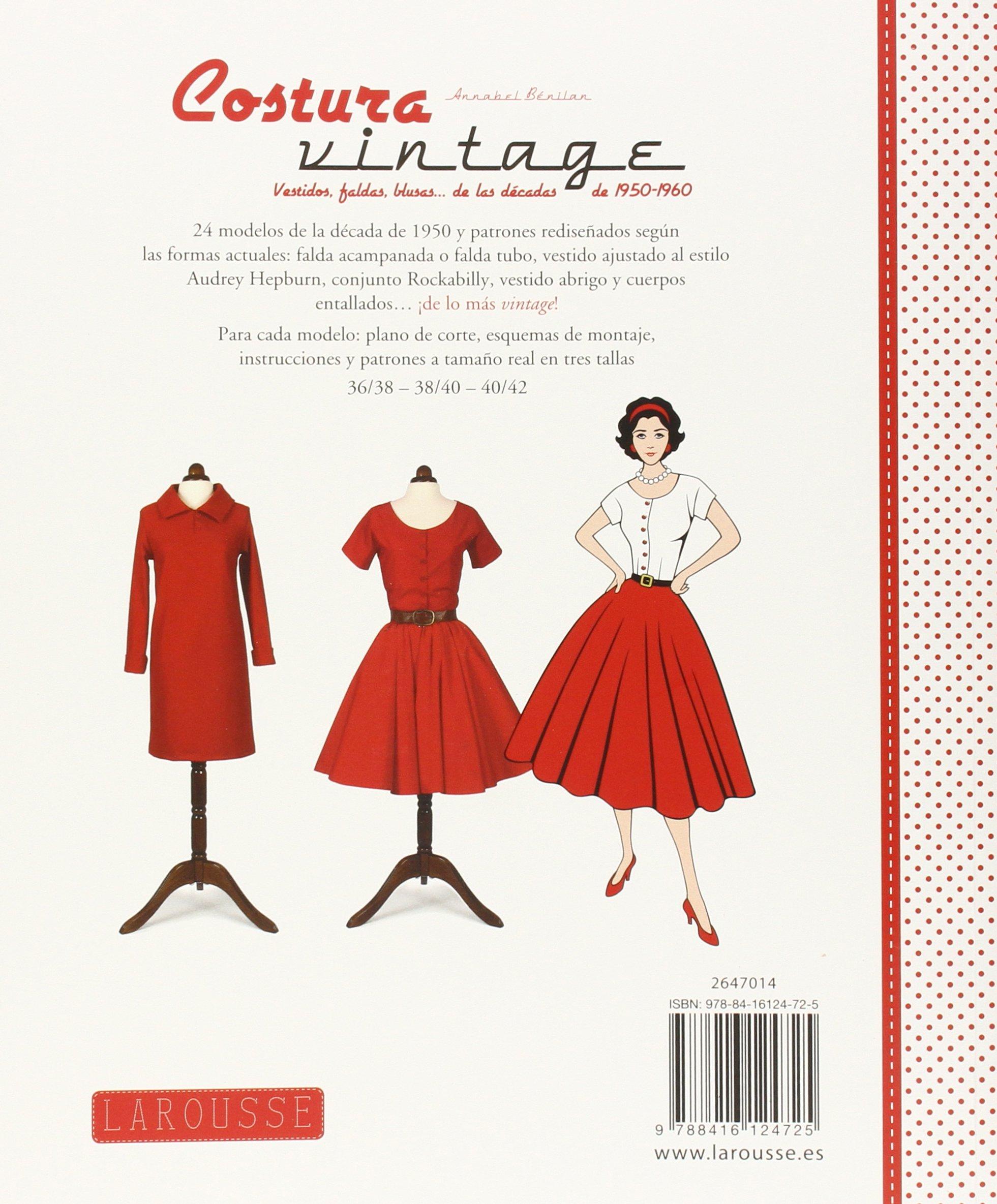 Costura vintage Larousse - Libros Ilustrados/ Prácticos - Ocio Y ...