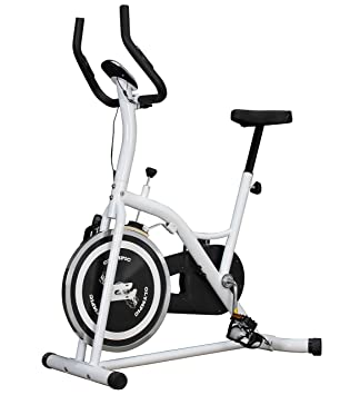Olympic Indoor Cycling - Cinta de correr para fitness, color blanco