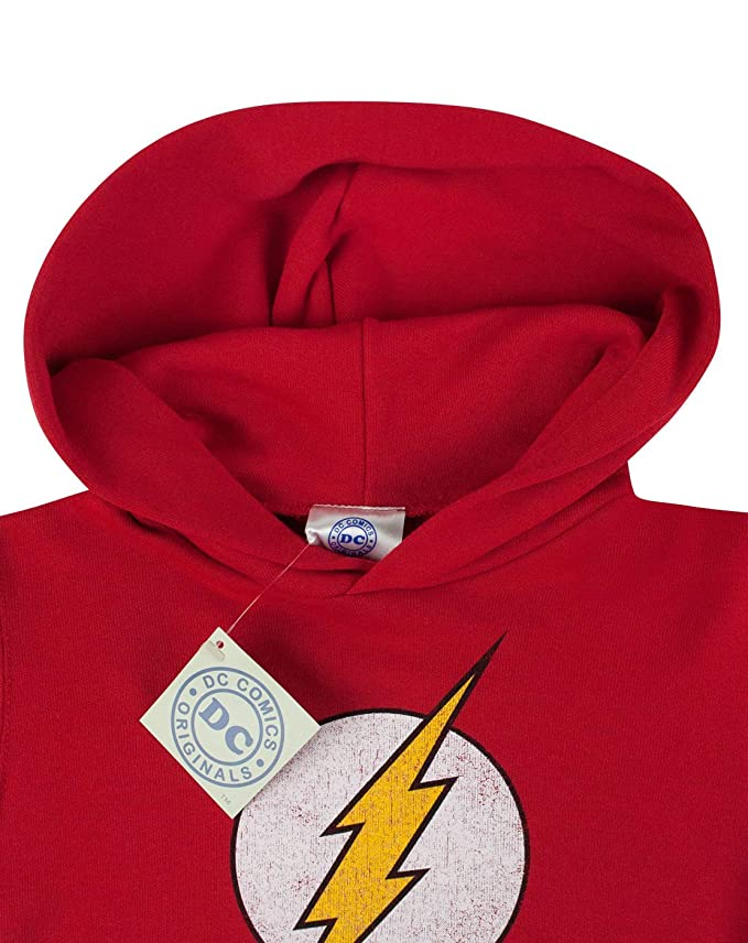 Noisy Sauce Flash Distressed Logo Boys Hoodie