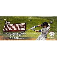 $199 » 2021 Topps Stadium Club MLB Baseball HOBBY box (16 pks/bx)