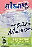 Alsa Préparation pour Yaourts Mon Bifidus Maison 4 Sachets 8g - Lot de 4