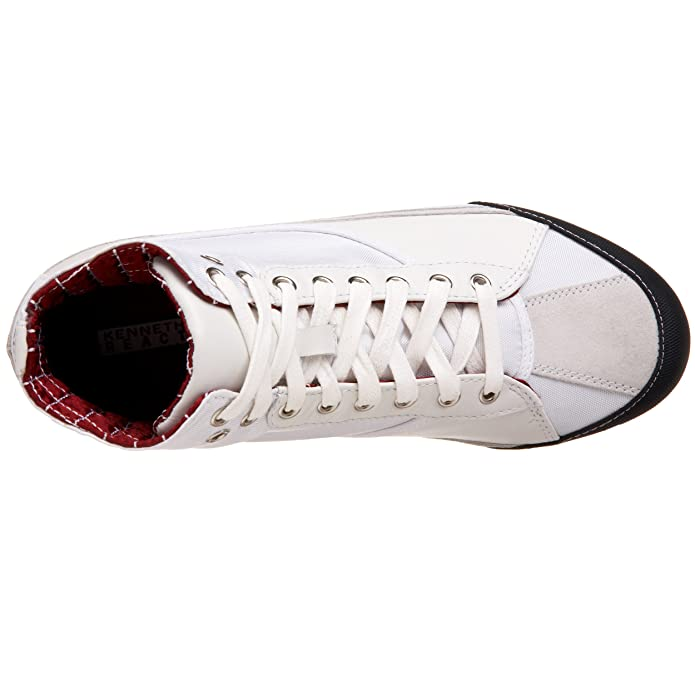 Kenneth Cole Reaction Men s Speed Ball High-Top Sneaker 5c8cd9c5e