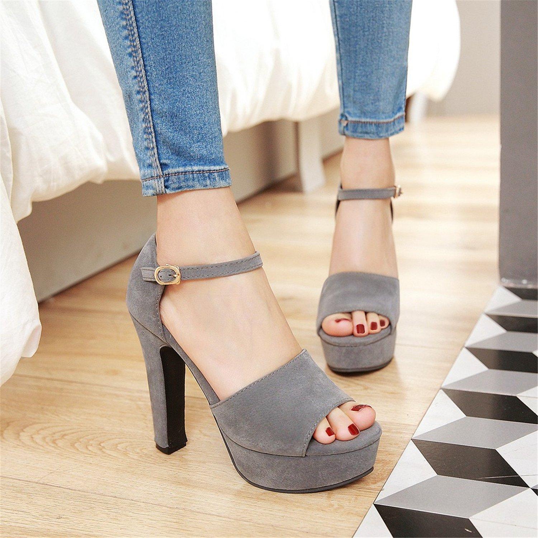 1ed9c2327b8b24 ... 100FIXEO Women Sexy D Orsay Platform Sandals Peep Toe D Orsay Sexy  Comfy Chunky ...