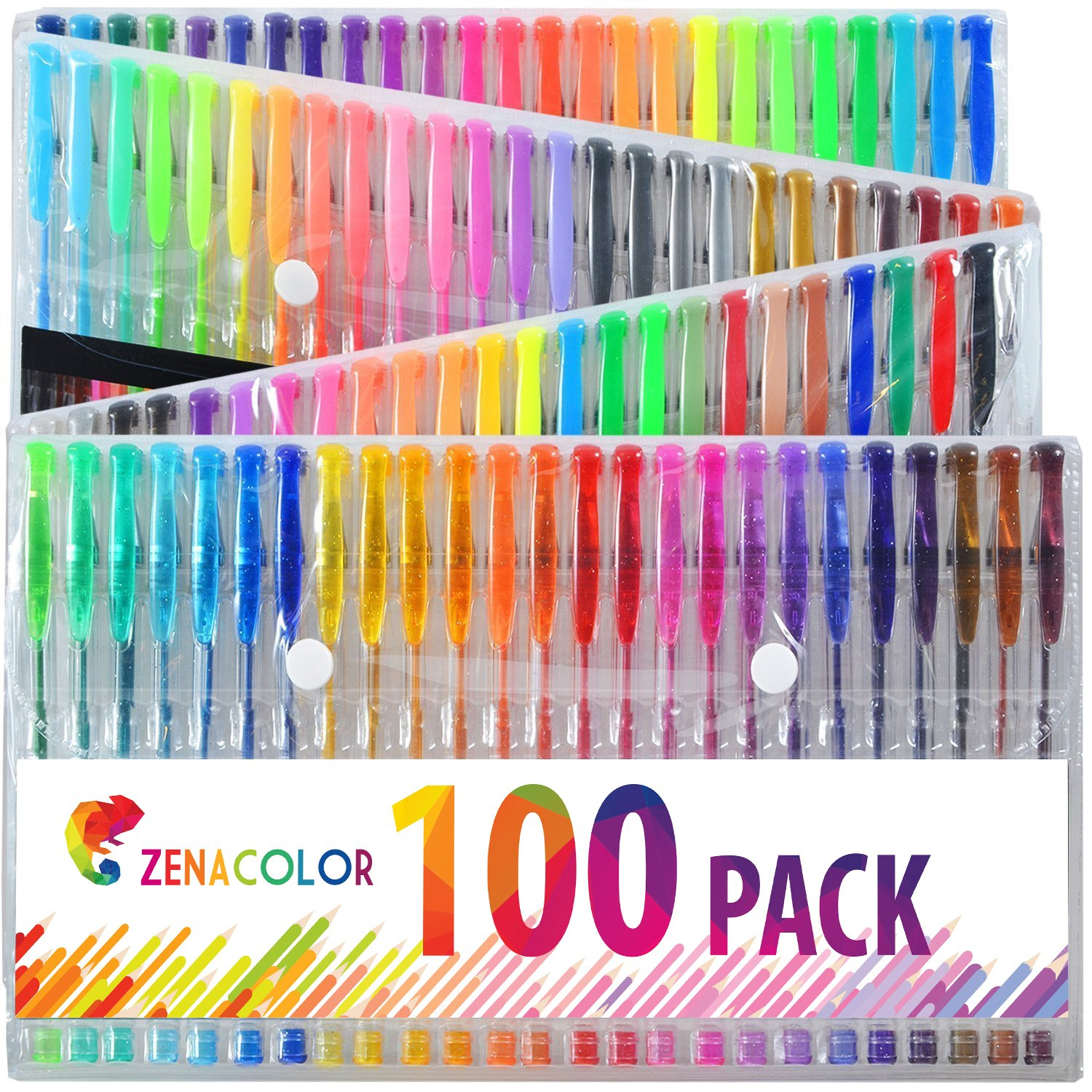 stylo 100 couleurs