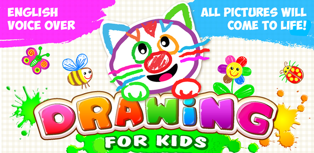 Amazon.com: DRAWING FOR KIDS: ALL DRAWINGS COME TO LIFE! Babies Learn To  Draw Animals In Coloring Book & Baby Painting Games For Kindergarten!  Children Animal Learning Toddlers Apps! Toddler Educational Paint Game