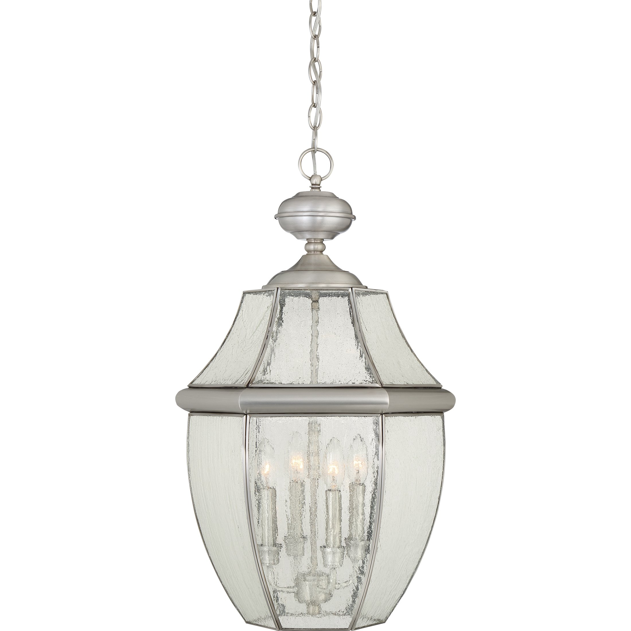 Quoizel NY1916P Four Light Outdoor Hanging Lantern by Quoizel