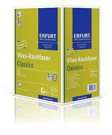 Erfurt Vlies Rauhfaser Classico 12 Rollen Au0027 7,95 M²