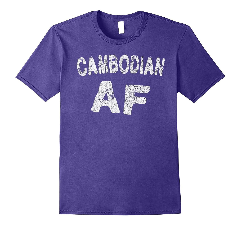 Throwback Grunge Style Cambodian AF T Shirt-FL