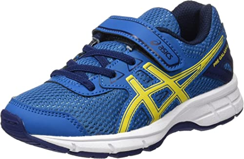 Asics Pre Galaxy 9 PS, Zapatillas de Running para Niños, (Thunder Blue/Vibrant Yellow/In), 27 EU: Amazon.es: Zapatos y complementos