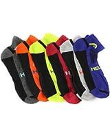 Head 6-Pack Men's Sport Quarter Socks