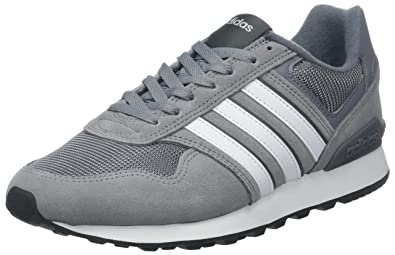 new styles 83b49 d76f4 adidas 10k, Chaussures de Fitness Homme, (GrisFtwblaGricin 000)