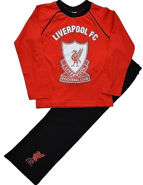 Liverpool F.C. - Pijama dos piezas - Manga Larga - para niño rojo rosso 5-