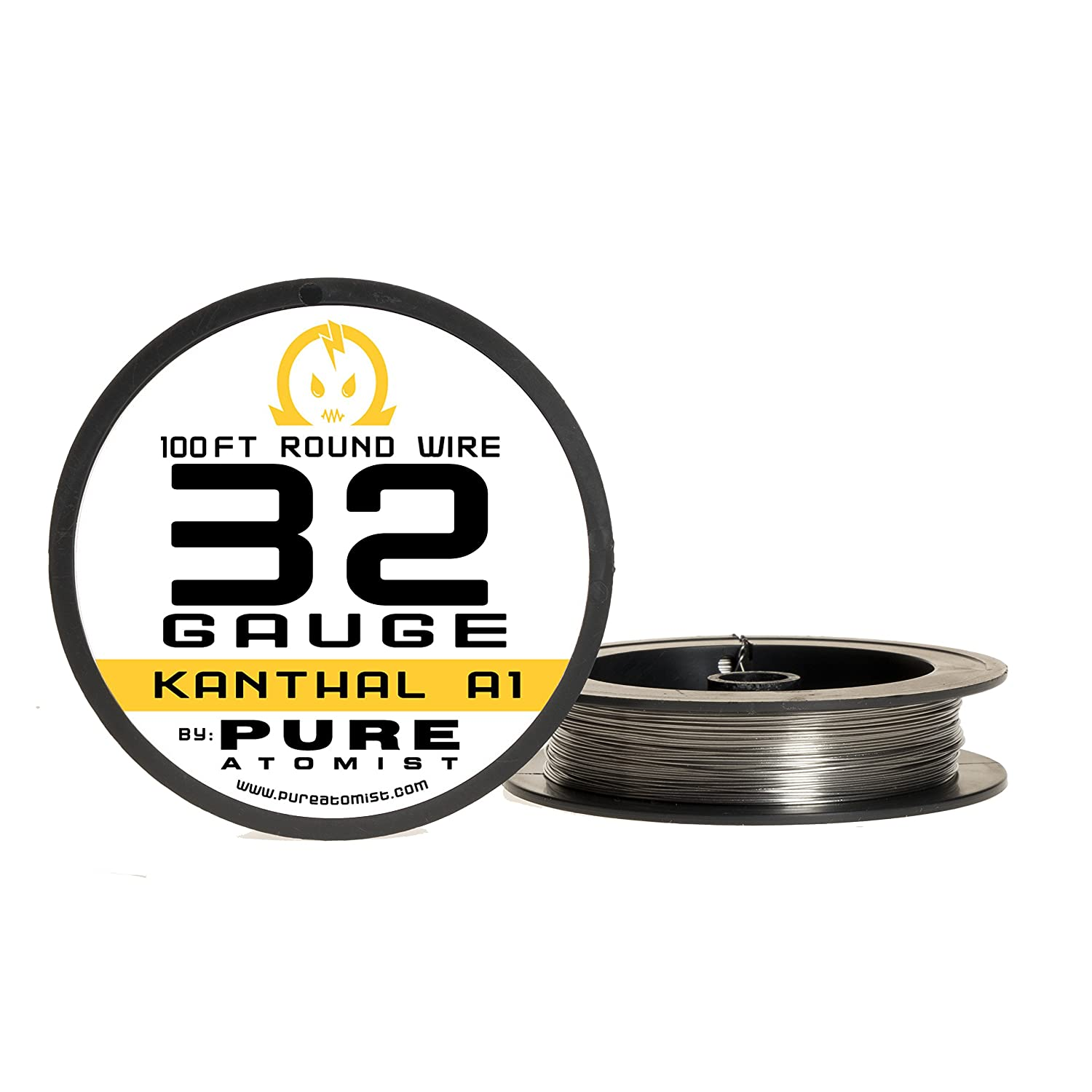 100ft - Kanthal A1 32 Gauge Resistance Wire - 32 AWG / 0.20mm 100 ft ...