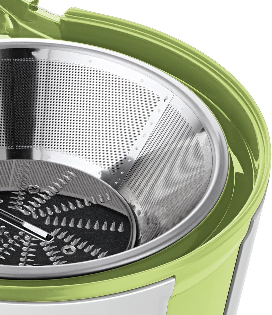 Bosch MES25G0 - Exprimidor (700W, Acero inoxidable, Verde, Juice ...