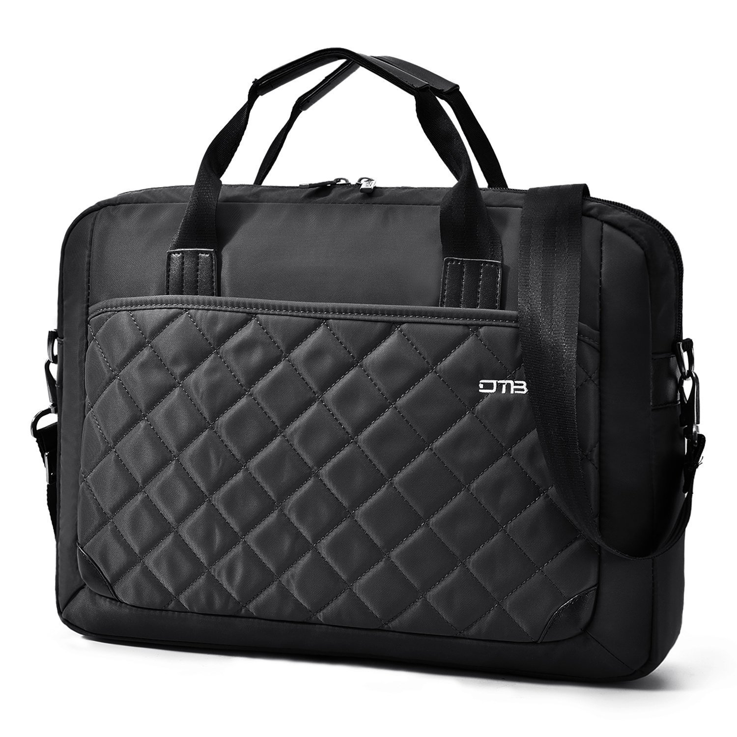 75ce434d536d Amazon.com: 15.6 Inches Laptop Bag DTBG Messenger Bag Nylon Shoulder ...